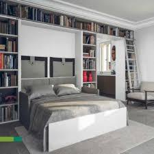 canapé lit armoire armoire lit escamotable avec canapé intégré au meilleur prix inside75