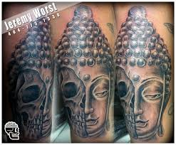 buddha skull religious by jeremyworst on deviantart