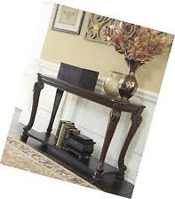 Norcastle Sofa Table by Roddinton Etagere Dark Brown Signature Design By Ashley Ebay