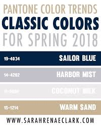 pantone color palettes 25 color palettes inspired by the pantone spring 2018 color trends