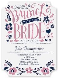 the story of let s do brunch bridal shower invitation crafted