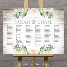 wedding seating chart ideas rustic seating charts for weddings chart ideas poster