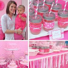 1st birthday party adorable pretty in pink 1st birthday party hostess with the mostess