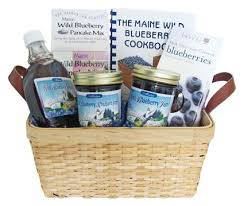 maine gift baskets maine blueberry basket