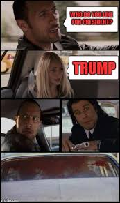The Rock Driving Meme - the rock driving and pulp fiction too imgflip