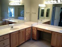 ideas for bathroom vanities l shaped bathroom l shaped bathroom vanity suite home design ideas
