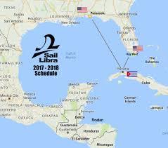 Map Key West December 27th U2013 January 4th Pensacola U003e Cuba U003e Key West U2013 Sail