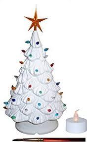 amazon com mantle lighted christmas tree tea light bulbs and