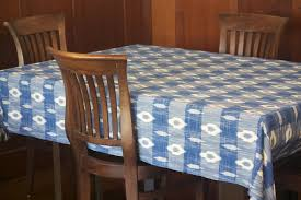 blue ikat tablecloth products pinterest products