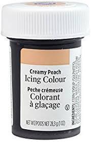 amazon com wilton paste colour creamy peach kitchen u0026 dining