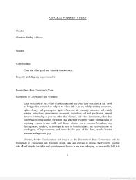 sample printable transfer of title warranty deed form printable