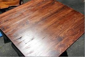 staining a table top staining a table top tips for staining wood furniture 9 of 9 a final
