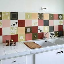 fliesen tapete küche wandfliesen küche retro mit patchwork fliesen tapete für moderne