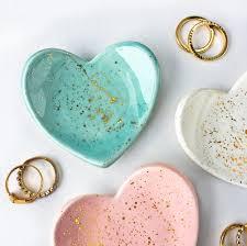 modern dish ring holder images Mini heart gold splatter ring dish jewelry dish jewelry jpg