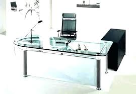 modern black computer desk modern glass desk glass desk office modern black glass computer desk