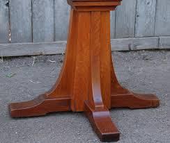 Oak Table L Voorhees Craftsman Mission Oak Furniture Vintage L J G