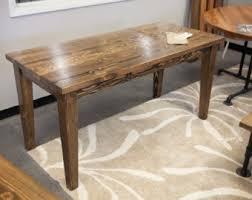 Narrow Rectangular Kitchen Table by Narrow Dining Table Etsy