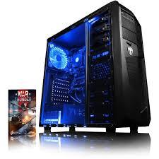 pc gamer de bureau vibox vision 2sl pc gamer amd 2 radeon 8370d graphiques