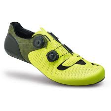 arrivate le nuove scarpe specialized s works 6 giallo fluo