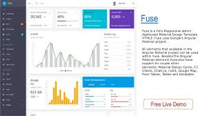 10 best html5 material design admin dashboards templates