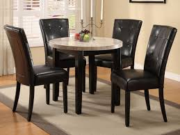 modern decoration dining room leather chairs fashionable ideas