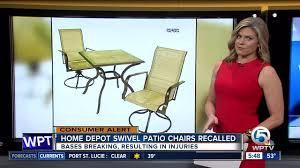 Home Depot Expo Patio Furniture - patio chairs sold at home depot recalled because of fall hazard
