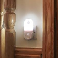 floor l with light sensor in portable night light with motion sensor