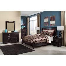 Candiac Upholstered Bedroom Set Queen Panel Bed