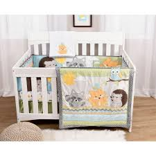 Sears Baby Crib Bedding buy woodland critters 6 piece crib bedding set online u0026 reviews