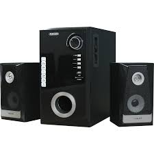 white home theater speakers fukuda fht2150 2 1 channel home theater speaker with bluetooth