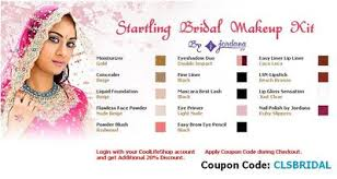 bridal makeup package special offer on bridal makeup kits in india at coollifeshop