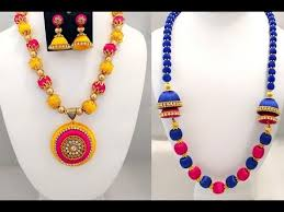 make chain necklace images How to make silk thread necklace black thread chain tutorials jpg