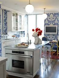 Blue And White Kitchen Cabinets Beautiful Rooms In Blue And White Traditional Home