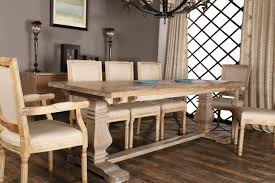 wellington rustic style large dining table sofamania com