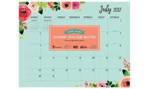 what is a desk blotter calendar 2018 academic year floral desk blotter groupon desk blotter calendar