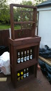 how to build your own bar out of pallet wood step by step youtube