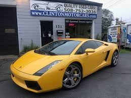 lamborghini gallardo lamborghini gallardo for sale in massachusetts carsforsale com