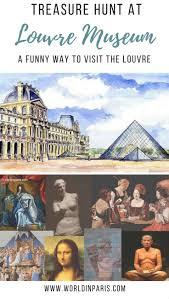 quirky paris louvre treasure hunt u2013 world in paris