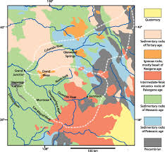 Map Of Grand Junction Colorado by Geology Of Unaweep Canyon And Its Role In The Drainage Evolution
