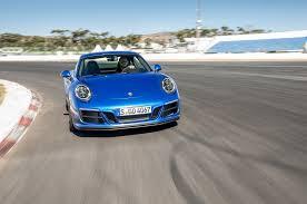porsche 911 front view premières impressions porsche 911 carrera gts 2017 motor trend