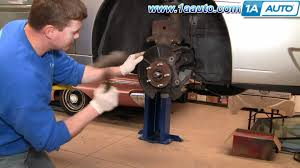 how to install replace front wheel bearing hub assembly chevy