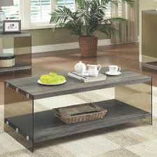 Weathered Coffee Table Grey Glass Coffee Table A Sofa Furniture Outlet Los Angeles Ca