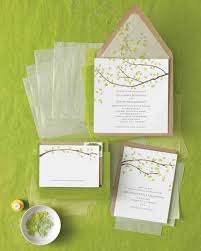 where to get wedding invitations five ways to customize your wedding invitations martha stewart