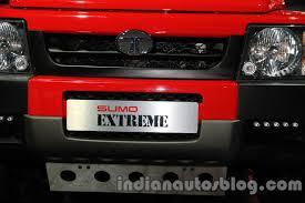 tata sumo tata sumo extreme front registration plate indian autos blog