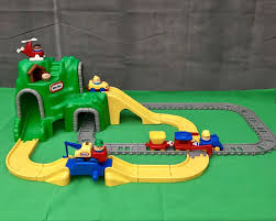 Little Tikes Activity Garden Rock N Spin by Little Tikes Mountain Train U0026 Rail Road Car Set Tow Truck