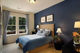 blue accent wall accent wall bedroom blue photogiraffe me