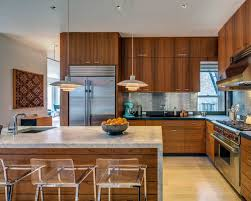 Medium Wood Kitchen Cabinets Houzz - Medium brown kitchen cabinets