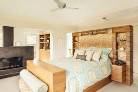 amazing queen size loft bed frame bedroom beach style with table