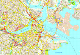 boston city map boston map eps illustrator vector city maps usa america order