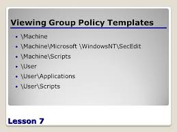introduction to group policy ppt download